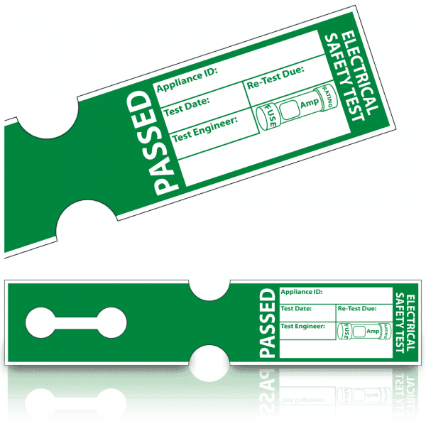 500 Tuff Tag PASS Labels 1