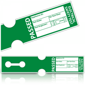 250 Tuff Tag PASS Labels 1